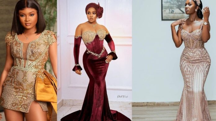 2021 Latest Hottest Lace Asoebi Styles For all Occasion