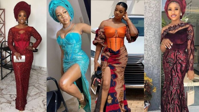 2021 Eye popping,Stylish and Top-Notch Asoebi styles