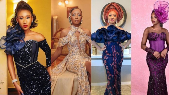 Flawless,Gorgeous and Stunning Asoebi styles of the week