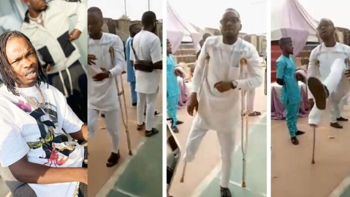 "Naira Marley Commends Physically Disabled Man Dancing To His Song""KOLEYEWON""(video)"