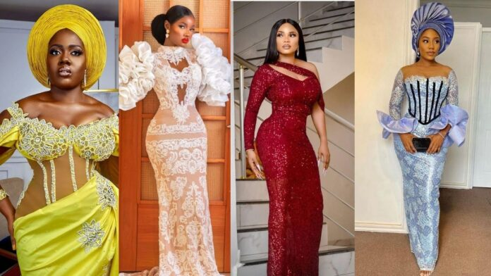 Latest Gorgeous And Elegant Asoebi Styles