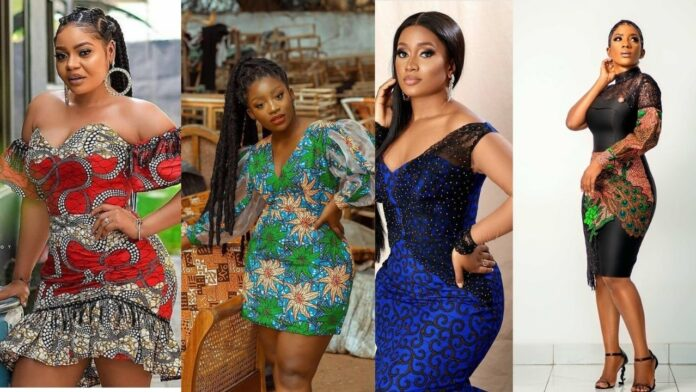 Elegant,classy and chicky ankara short gown styles