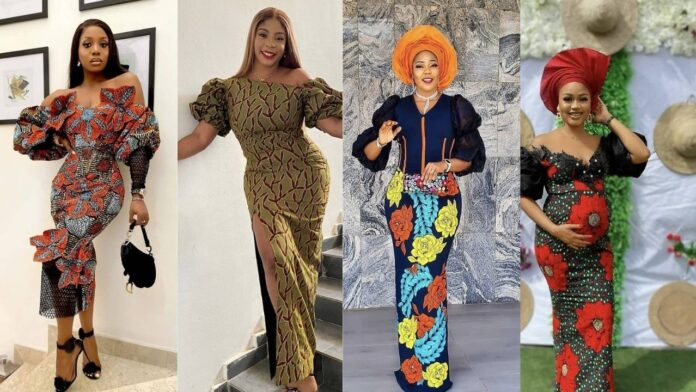 Lovely ankara long gown styles for all ladies to add to their wardrobe collections.
