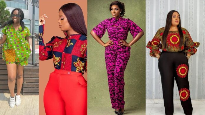 Ankara Trouser and Top styles for chicky Ladies