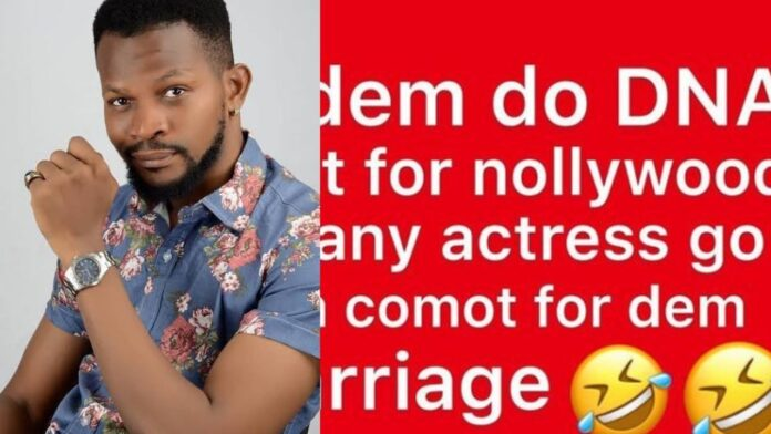 """""""80% of Nollywood Actress are guilty of Paternity Fraud""""-Actor Uche Maduagwu"""