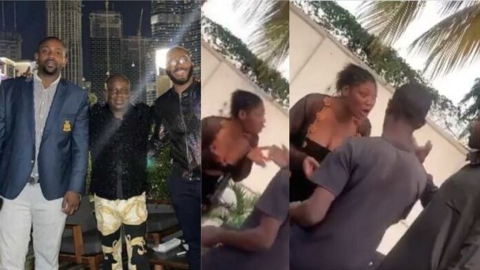 Sex Worker Publicly Disgrace Bbnaija Kiddwaya's Brother After He Refused To Pay Her(Video)