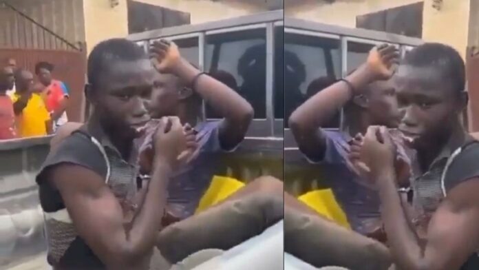Teenagers arrested for allegedly murdering their friend for money ritual in Ghana (video)