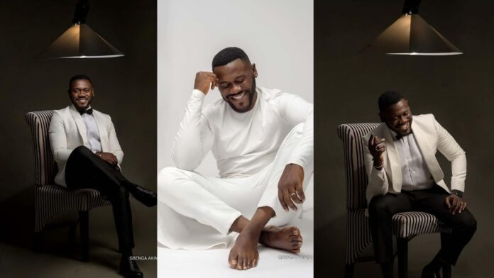 """""""I'm basking in the Light of His Love""""- Actor Deyemi Okanlawon shares stunning photos as he adds another age."""