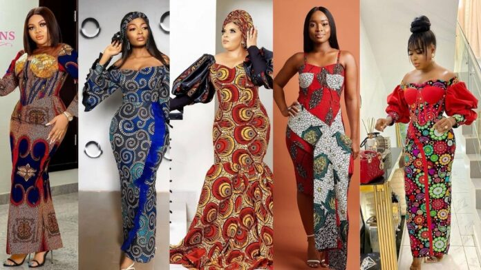 Attractive Ankara Long gown styles for all occasion.