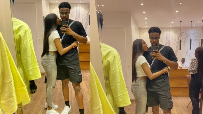 """""""Together is a wonderful place to be""""- BBNaija Vee and Neo,writes as they share loved-up photos."""