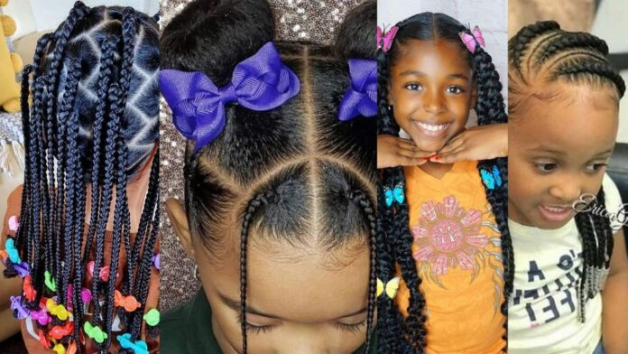 Cute Kids Hairstyle Inspiration for girls
