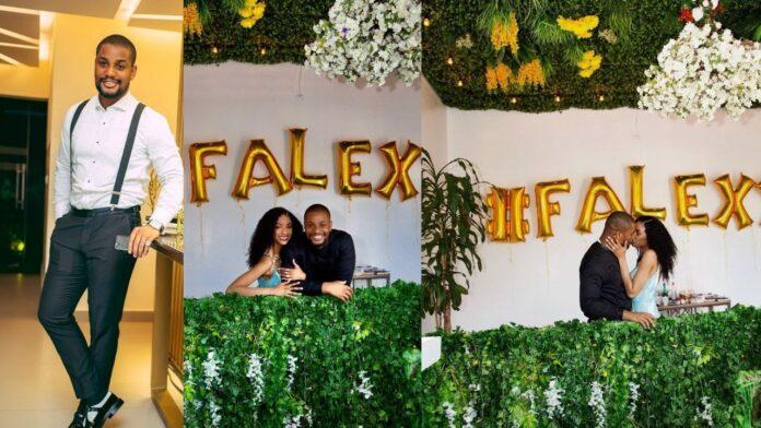 Actor Alexx Ekubo finally propose to his Girlfriend