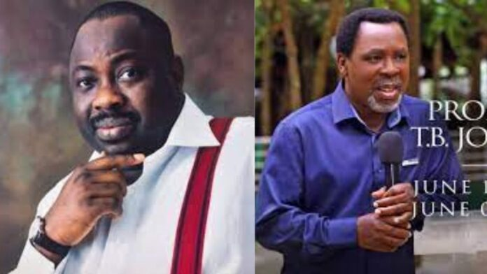 """""""Even in death,He is still hated - Dele Momodu questions why the Christian community has not commented on TB Joshua's death"""