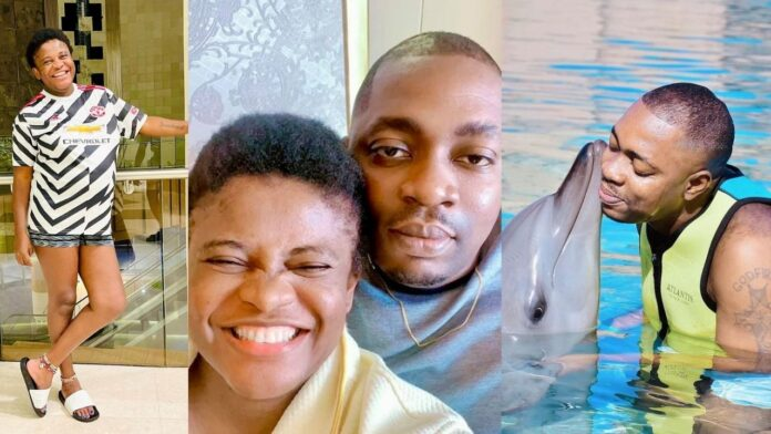 ''He did me the biggest favor in life by making me his MRS''- sex therapist, Angela Nwosu, showers her husband with encomium