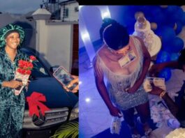 Man surprises his girlfriend who stood by him when he was broke with a car and other gifts on her birthday
