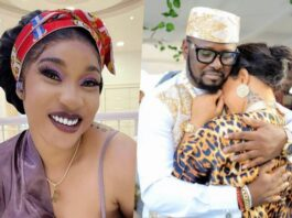 """""""You can't use my past to hurt me"""" – Tonto Dikeh shares confrontational chat with Kpokpogri over leaked audio tape"""