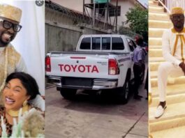 """""""You Gave Me A Refurbished Hilux Without A Single Car Paper On My Birthday"""" – Kpokpogri calls out Actress, Tonto Dikeh Again"""