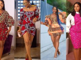 Ankara Styles : Stunning Latest ankara short gown styles compilation