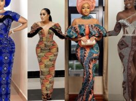Latest, lovely and Stunning Ankara Long Gown Styles